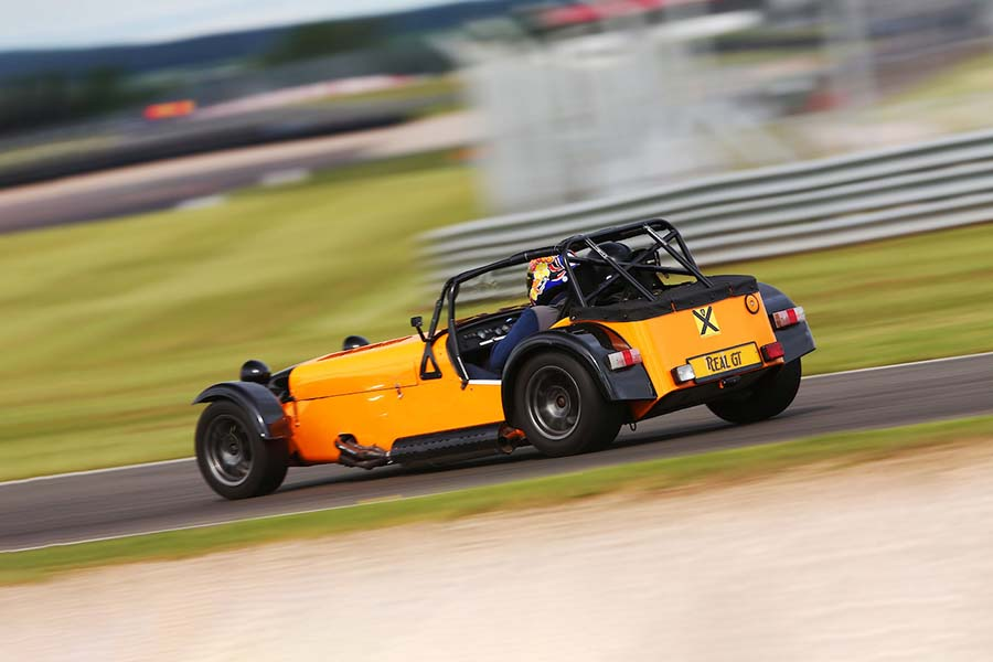 Caterham R400 track day hire