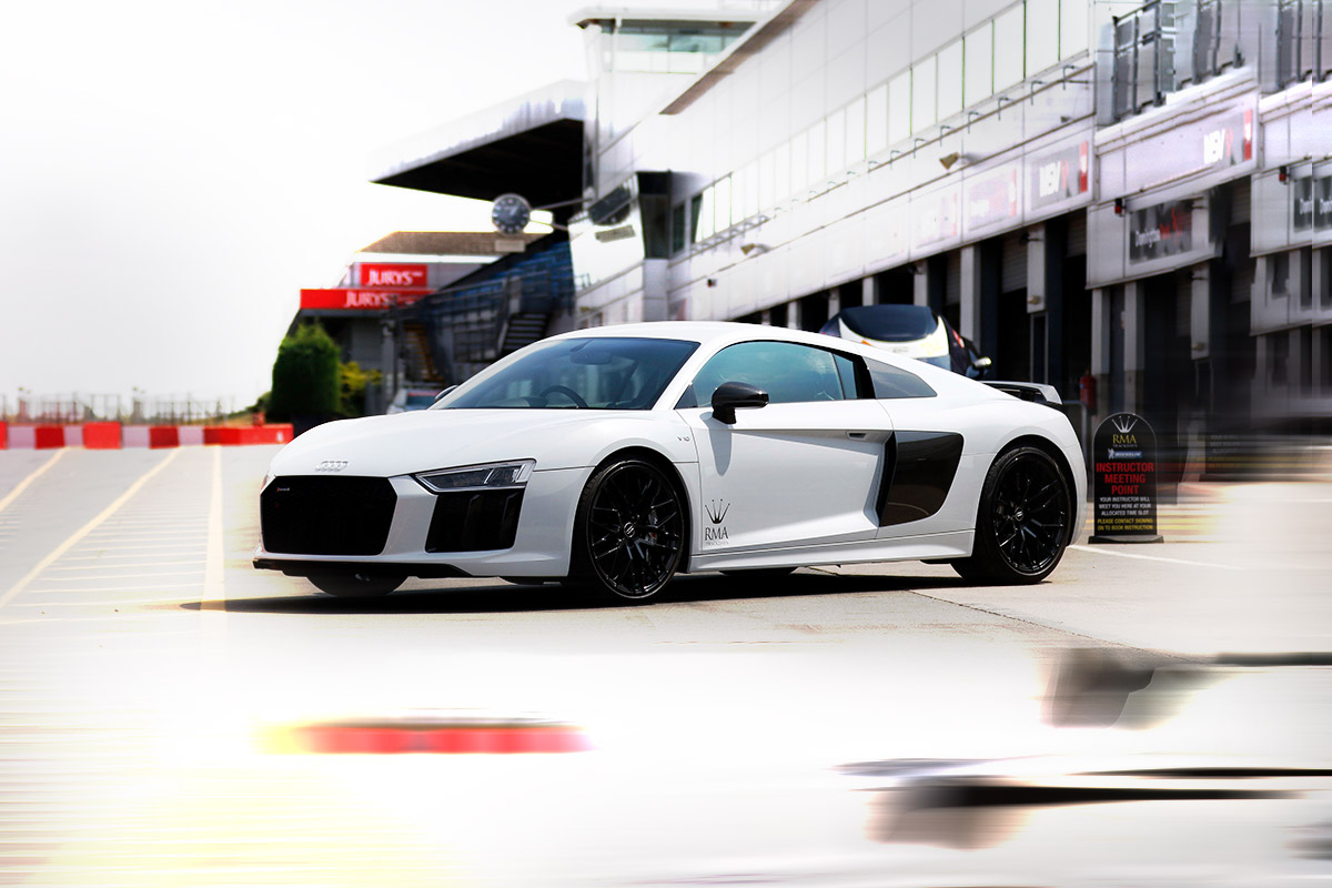 Audi R8 V10 Plus Coupé Track Day Hire track day hire