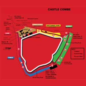 Track Day Car Hire Castle Combe