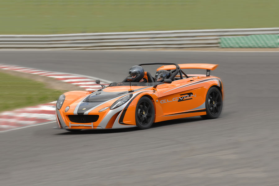 Lotus 2 Eleven track day hire