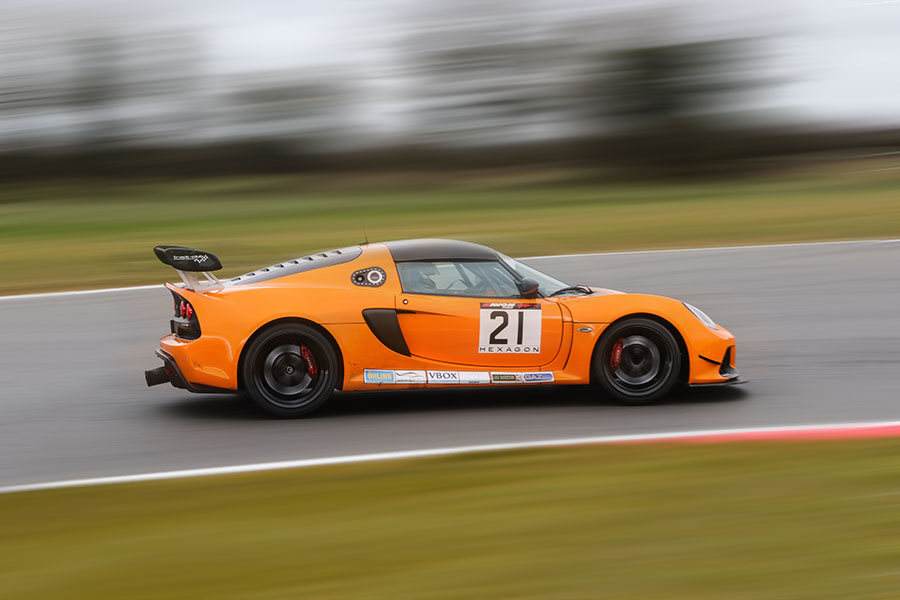 Lotus Exige V6 Cup R track day hire